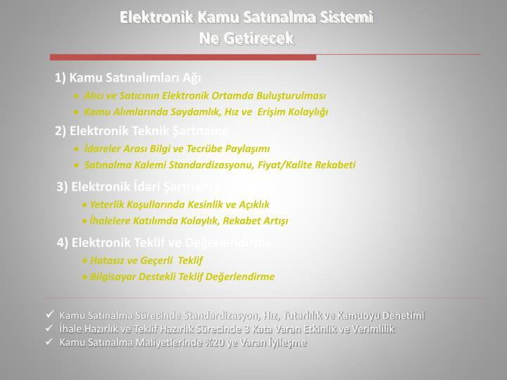 Elektronik Kamu Satnalma Sistemi