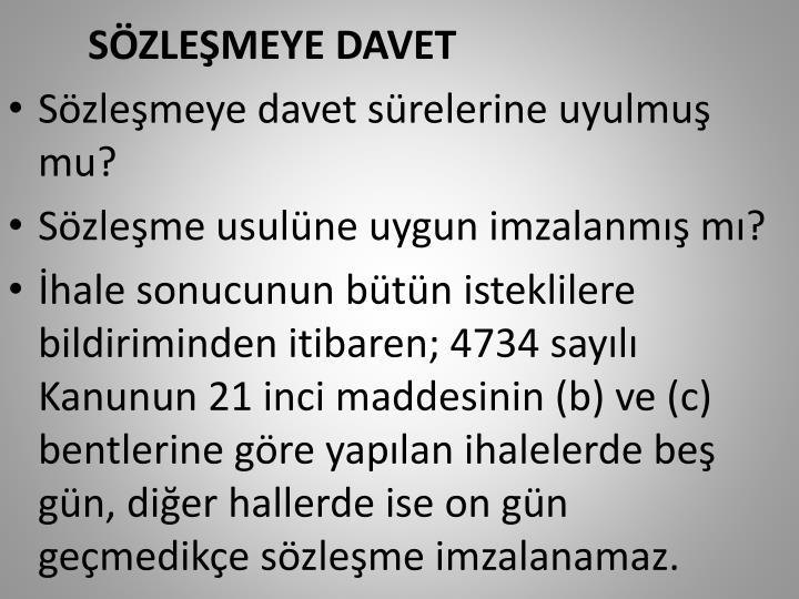 SZLEMEYE DAVET