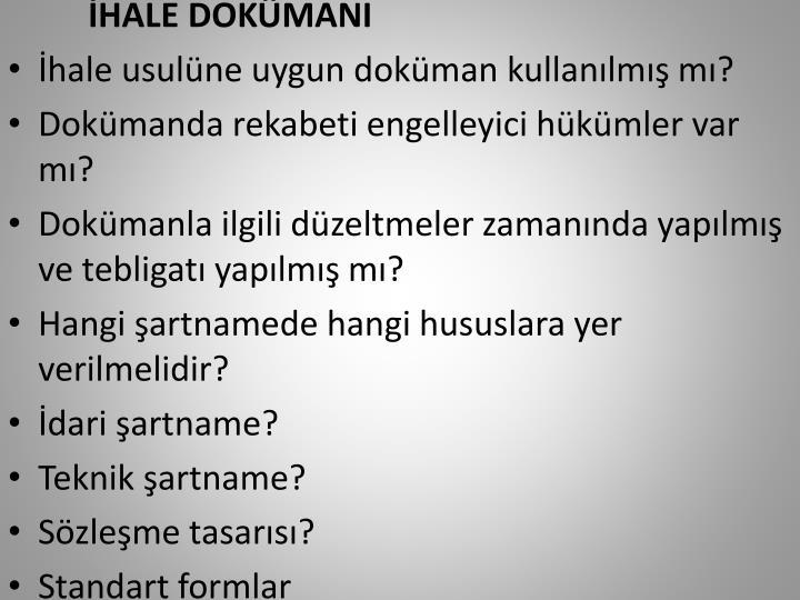 HALE DOKMANI