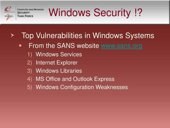 Windows security1
