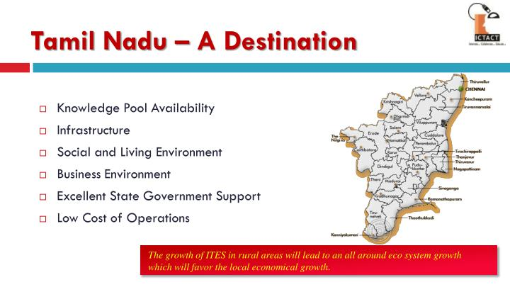 Tamil Nadu – A Destination