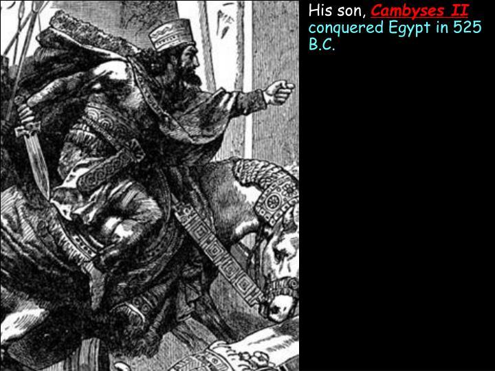 His son,