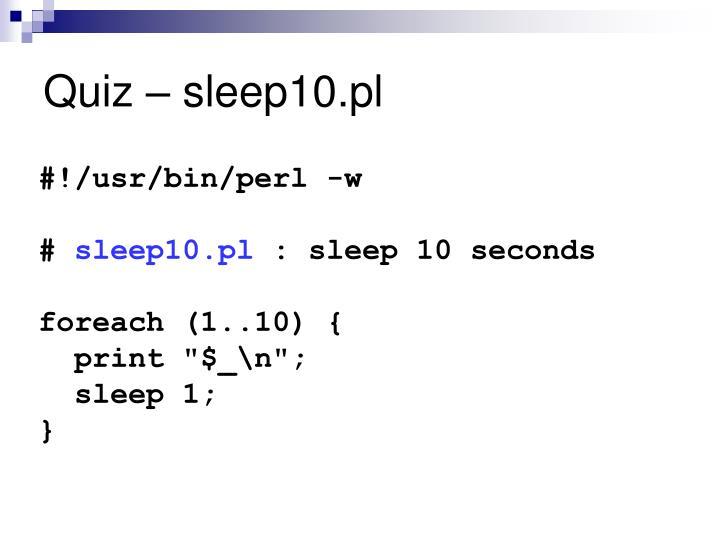 Quiz – sleep10.pl