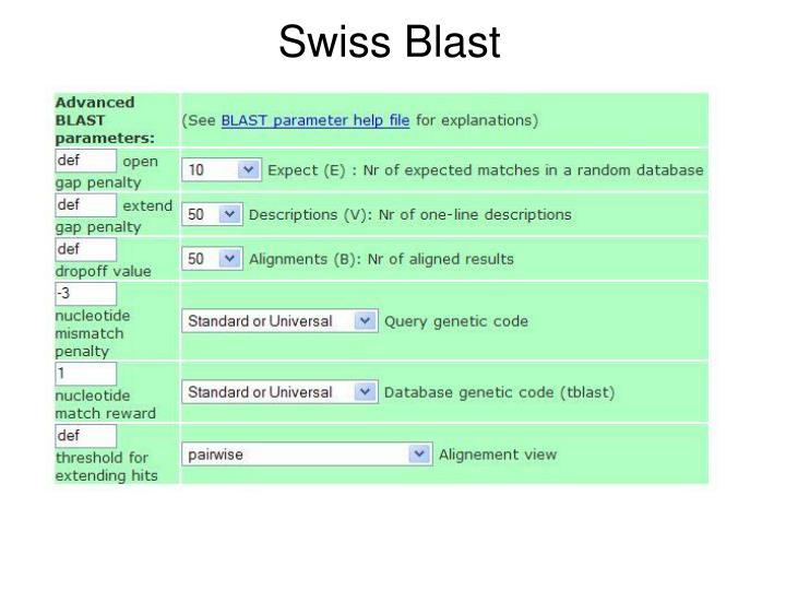 Swiss Blast