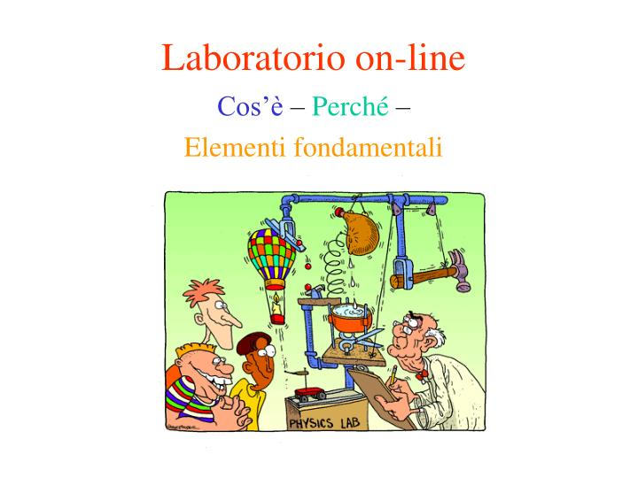 Laboratorio on line