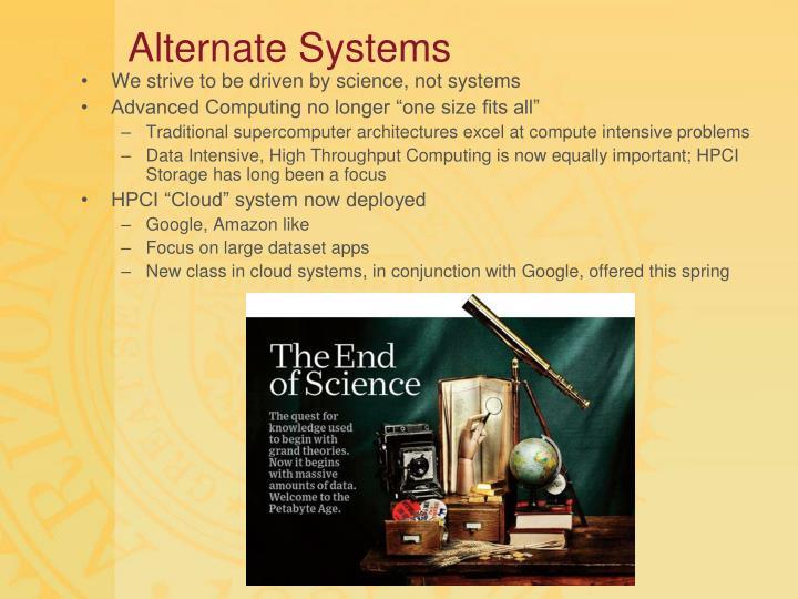 Alternate Systems