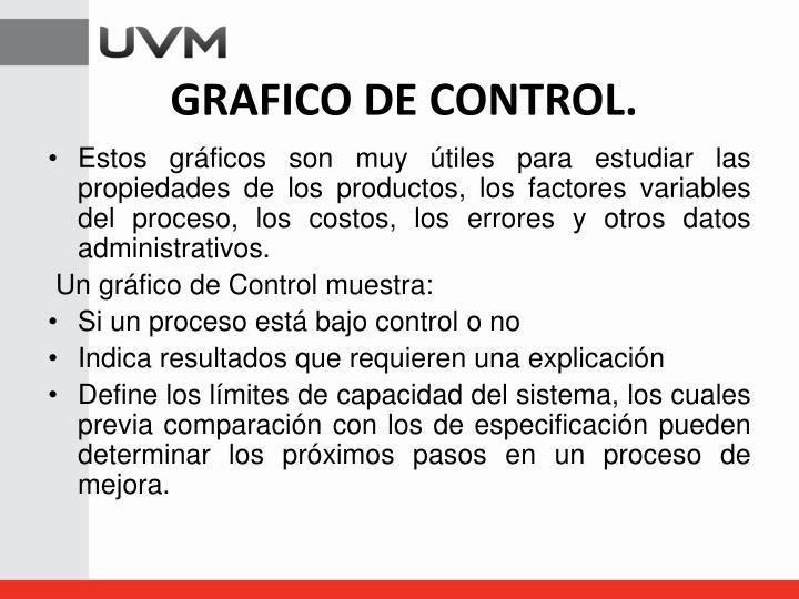GRAFICO DE CONTROL.
