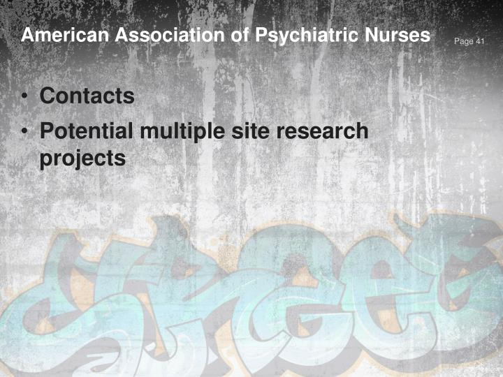 American Association of Psychiatric Nurses