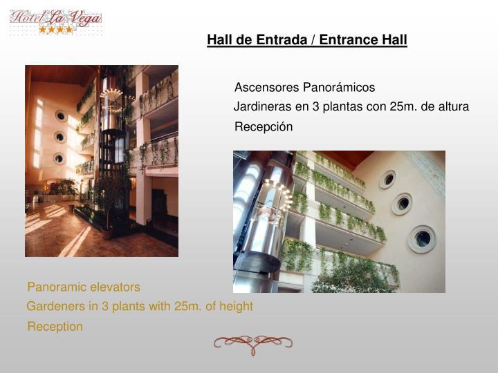 Hall de Entrada / Entrance Hall