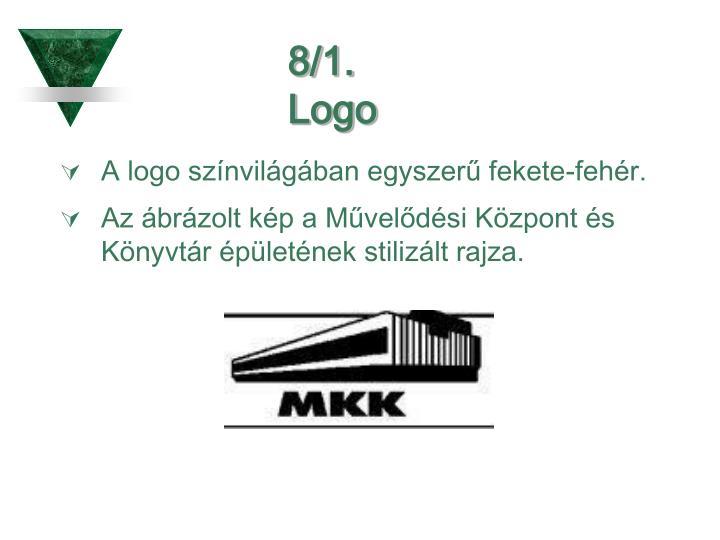 8/1. Logo