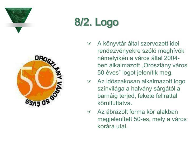 8/2. Logo
