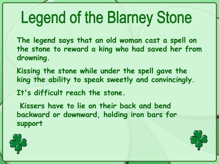 Legend of the Blarney Stone