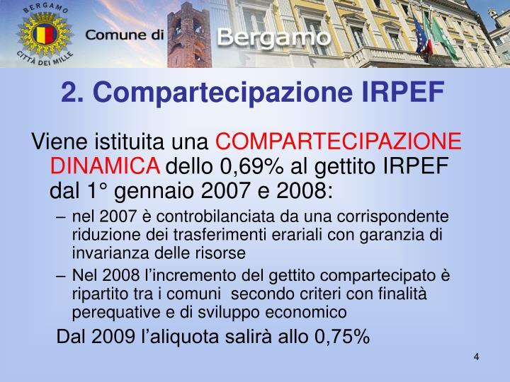 2. Compartecipazione IRPEF
