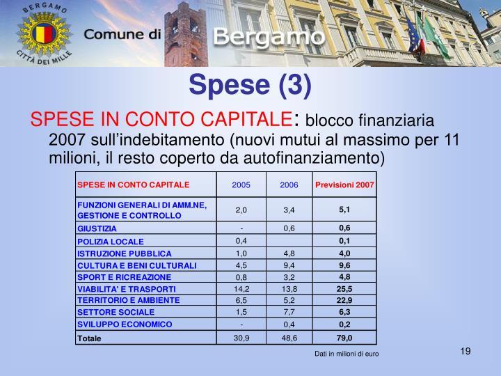 Spese (3)