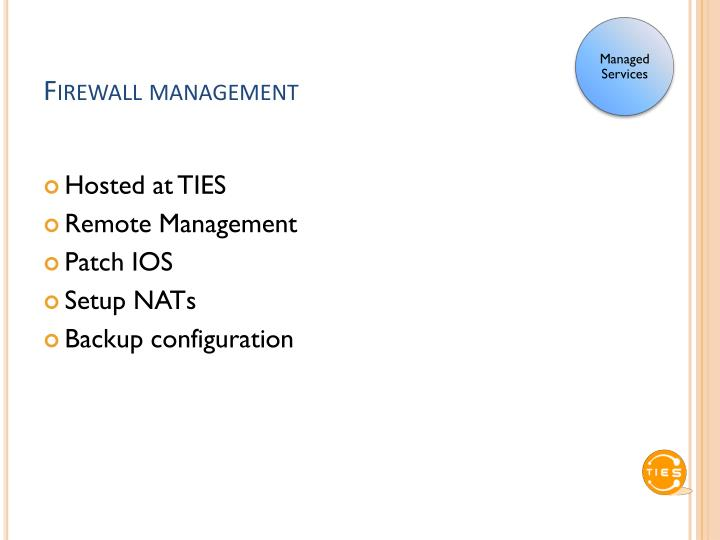 Firewall management