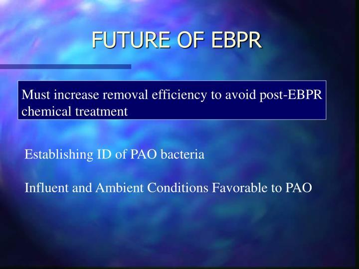 FUTURE OF EBPR