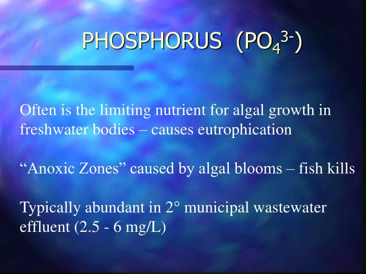 PHOSPHORUS  (PO