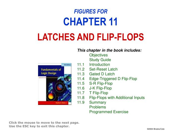 Figures for chapter 11 latches and flip flops