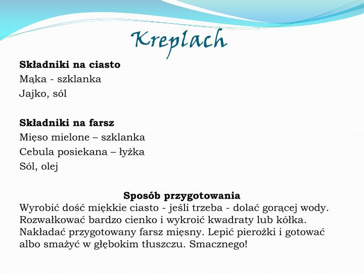 Kreplach