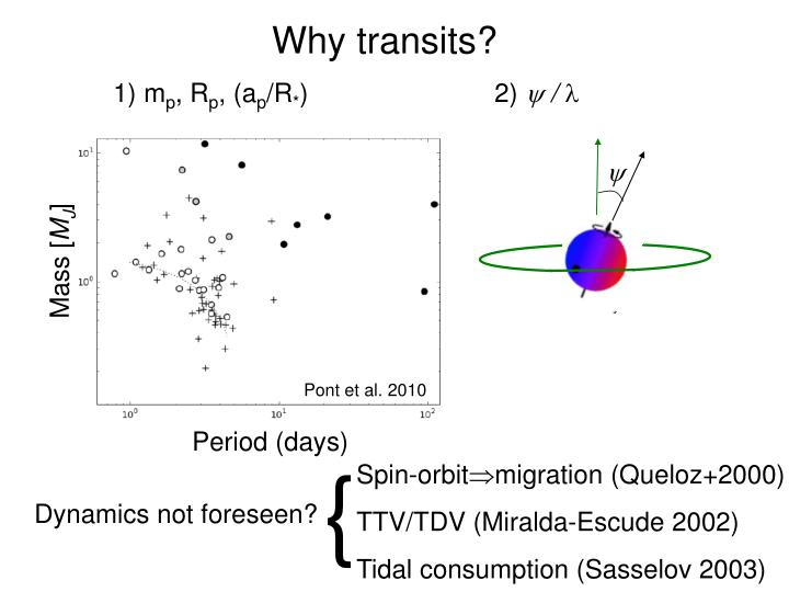 Why transits