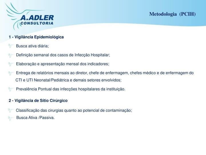 Metodologia  (PCIH)