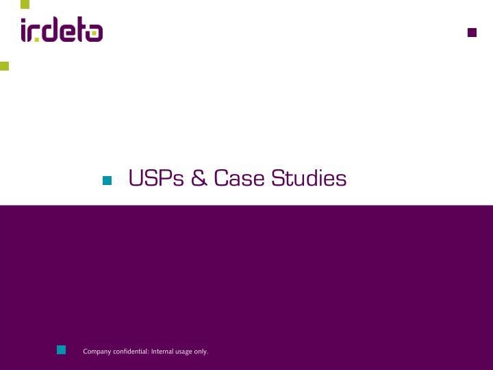 USPs & Case Studies