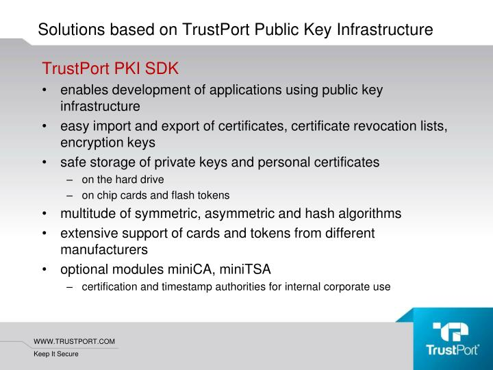 TrustPort PKI SDK