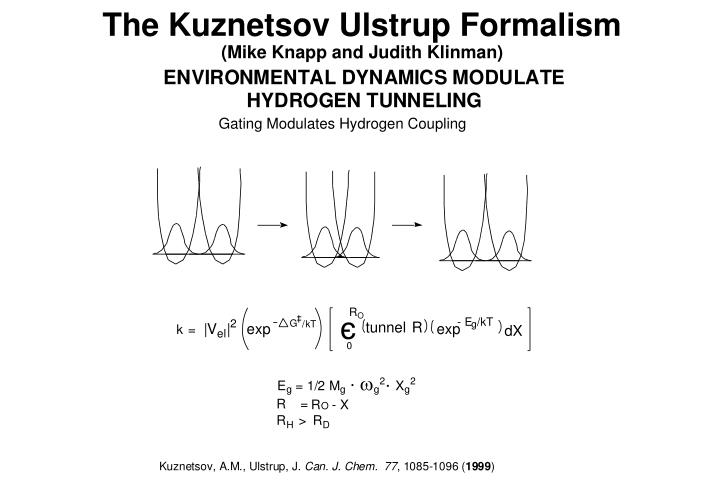 The Kuznetsov Ulstrup Formalism