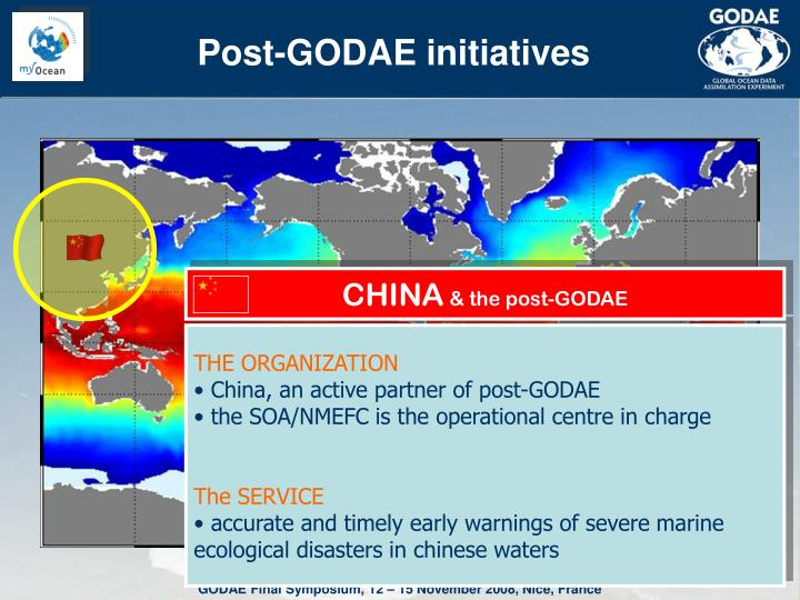 Post-GODAE initiatives