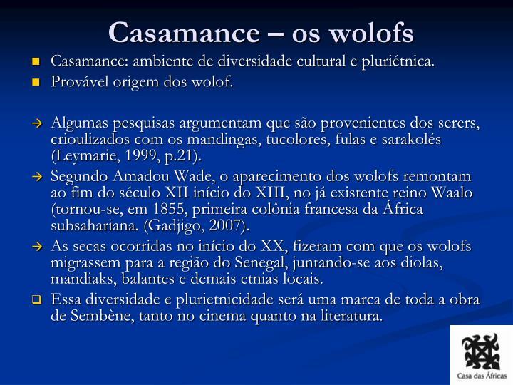 Casamance – os wolofs