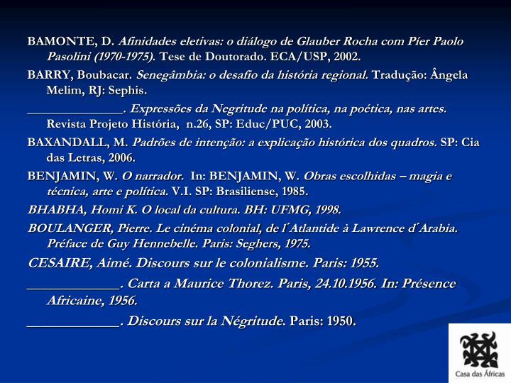 BAMONTE, D.