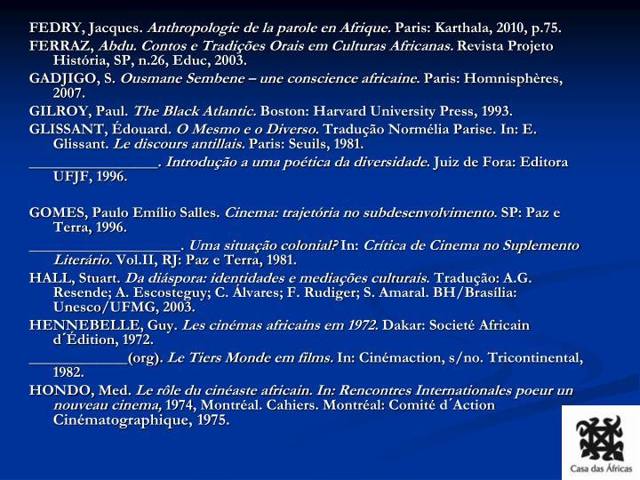 FEDRY, Jacques.