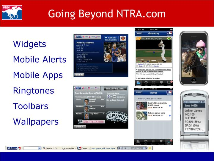 Going Beyond NTRA.com