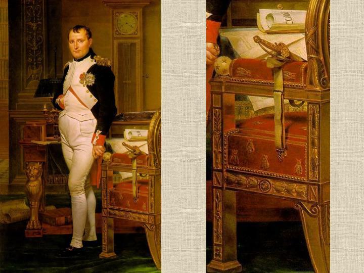 Napoleon in zijn studiekamer,