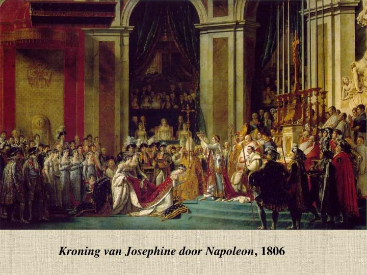 Kroning van Josephine door Napoleon