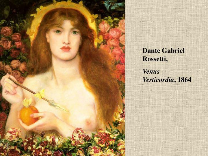 Dante Gabriel Rossetti,