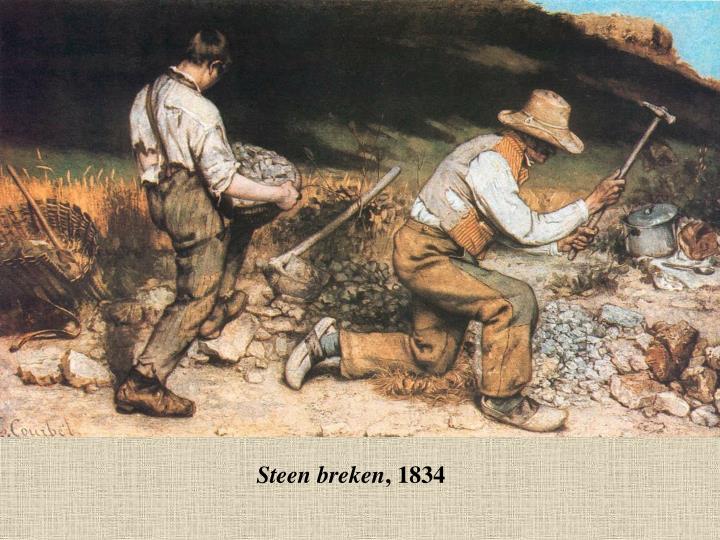 Steen breken