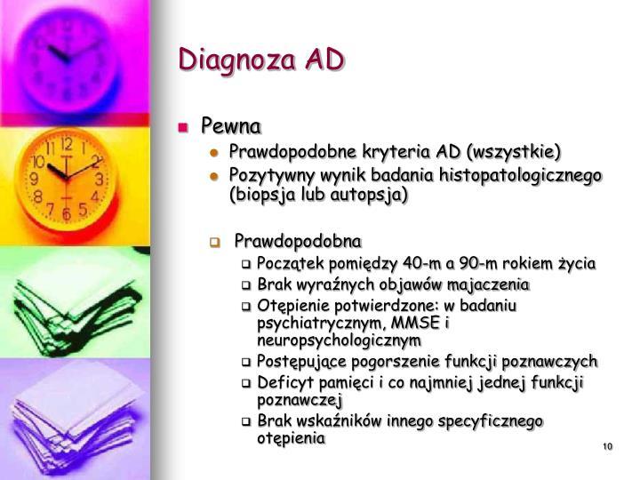 Diagnoza AD