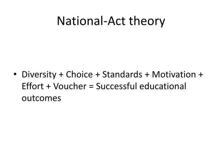 National act theory