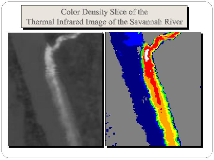 Color Density Slice of the