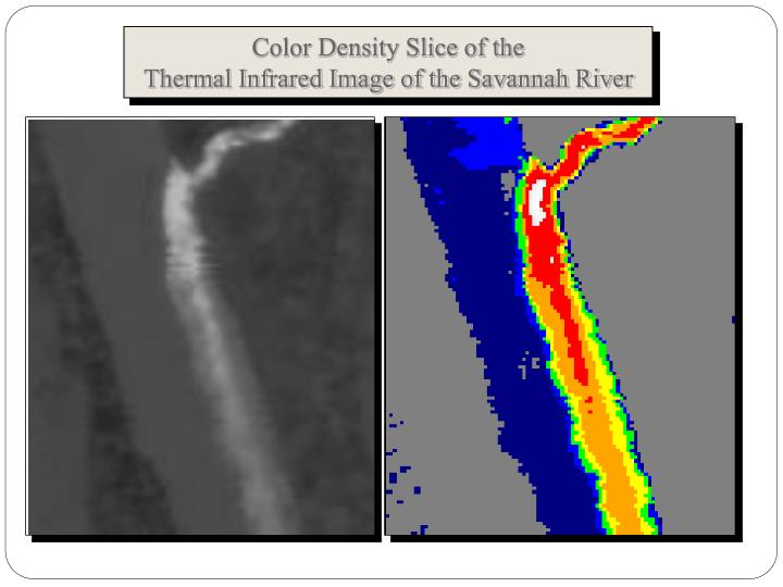 Color Density Slice of the