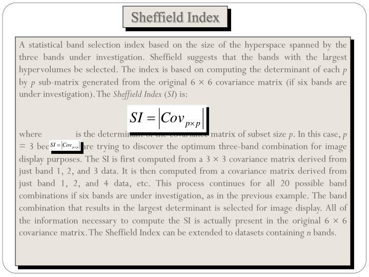 Sheffield Index