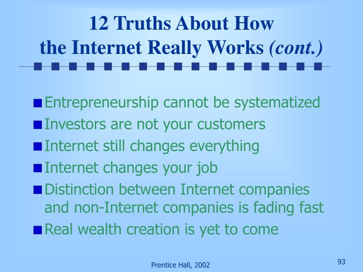 12 Truths About How