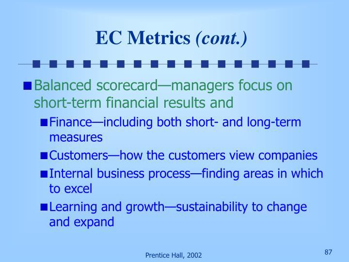 EC Metrics