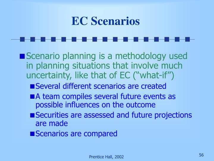 EC Scenarios