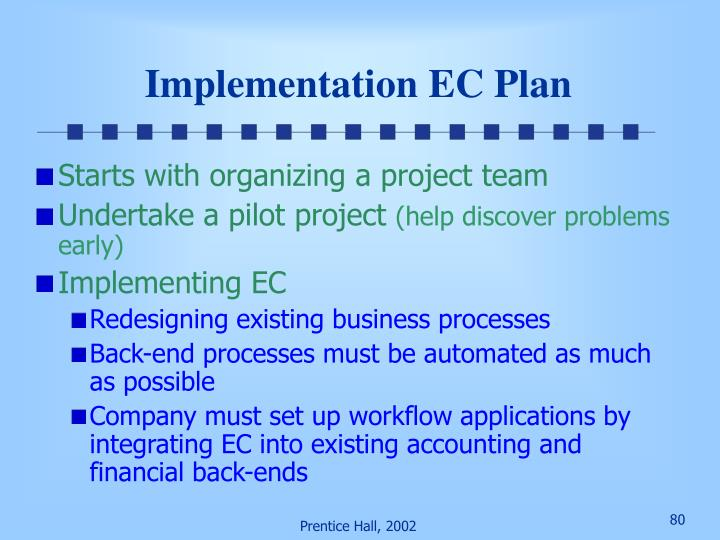 Implementation EC Plan