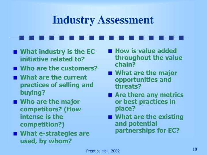 What industry is the EC initiative related to?