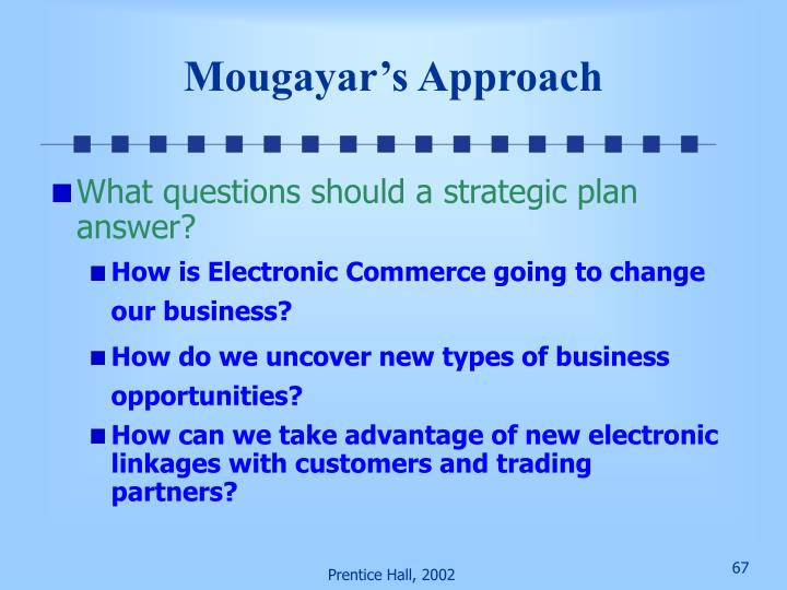 Mougayar's Approach