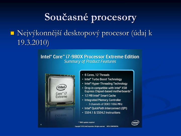 Současné procesory