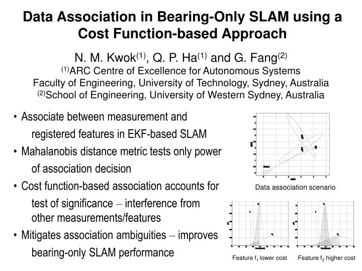 Data Association in Bearing-Only SLAM using a